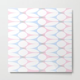 Soft pattern 02 Metal Print