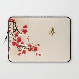 Oriental plum blossom in spring 011 Laptop Sleeve