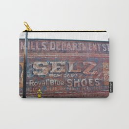 Three Advertisements Carry-All Pouch