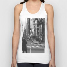 Let my imagination go (B&W) Unisex Tank Top