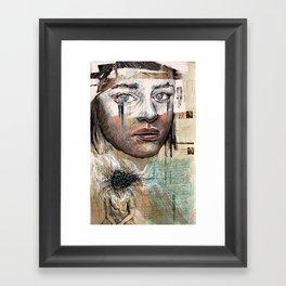 Indelicate Eyes Framed Art Print