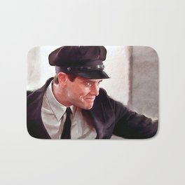 How About A Hug - Jim Carrey In Dumb And Dumber Bath Mat