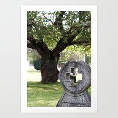 enjoy your visit Art Print