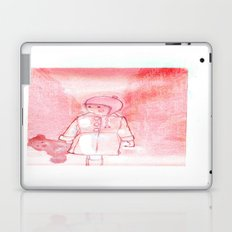 Shelsea and his teddy bear Valentin  Laptop & iPad Skin