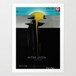 Peter Jecza Art Print