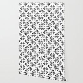 Ink Stroke Pattern Wallpaper