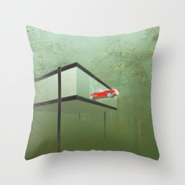 """You killed the car"" - Ferris Bueller's Day Off Throw Pillow"