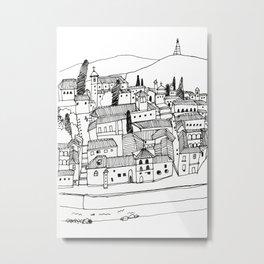 travel story - alhambra Metal Print