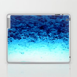 Blue Crystal Ombre Laptop & iPad Skin