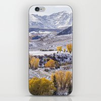 gore iPhone & iPod Skins featuring Gore Range by Two Happy Campers