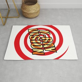 XRAY VISION Funny Cool Graphic Rug