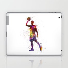 young man basketball player Laptop & iPad Skin