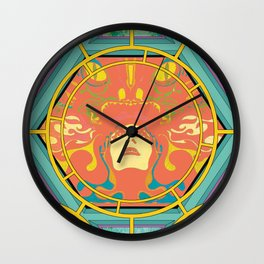 PSYCHEDLIA DREAMS Wall Clock