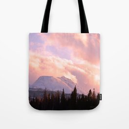 Rose Quartz Turbulence Tote Bag