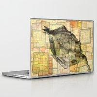 lotus flower Laptop & iPad Skins featuring Lotus by Aloke Design