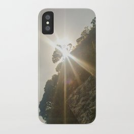 Shine Over Me iPhone Case