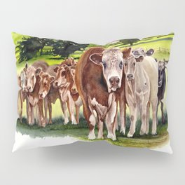 Herd It Throught the Grapevine Pillow Sham