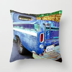 Nearing the End of The Road Throw Pillow