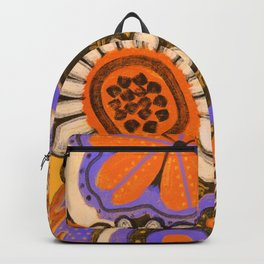 Psychedelic Flowers Backpack