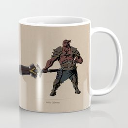 D&R NPC: Vallus Grimnas Coffee Mug