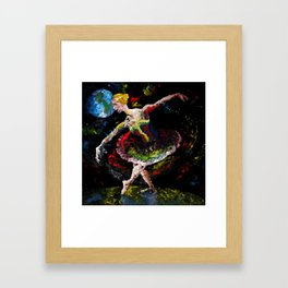 la de da de da Framed Art Print