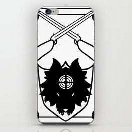 Chasseur iPhone Skin