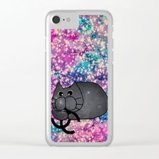cat-298 Clear iPhone Case
