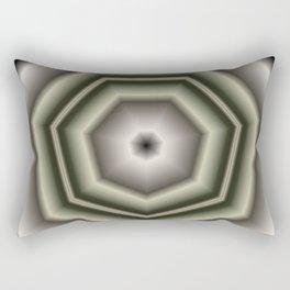 Polygon Auras in CMR 03 Rectangular Pillow