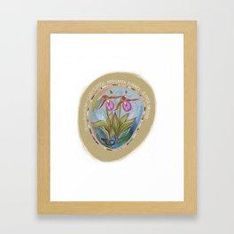Wild Flowers of Virginia Framed Art Print