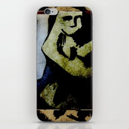 Mouthless iPhone Skin