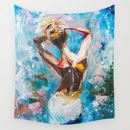 Sweet morning Wall Tapestry