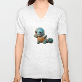 Realistic Squirtle Unisex V-Neck