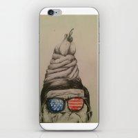 jfk iPhone & iPod Skins featuring JFK Sundae by Hannah McKee