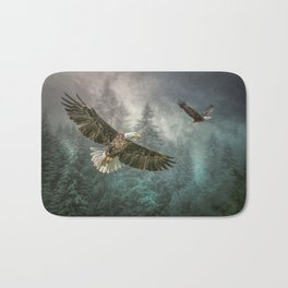 Valley of the eagles Bath Mat