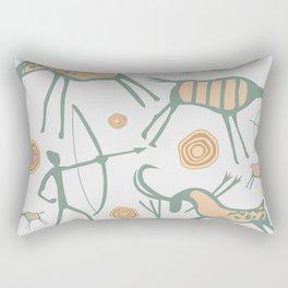 Ancestors Wall Rectangular Pillow