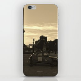 vintage car iPhone Skin