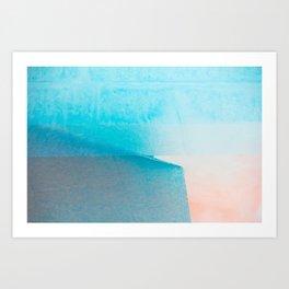 WET COLORS 2 Art Print