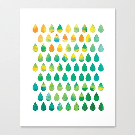 Monsoon Rain Canvas Print