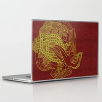 reassurance Laptop & iPad Skins featuring Phoenix Beauty by Li Boggs