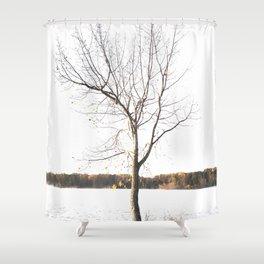 Solitude Shower Curtain