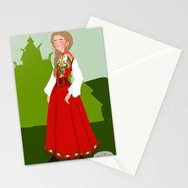 Norwegian Bunad  Stationery Cards