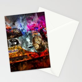 917 Le Mans at night Stationery Cards