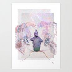 Dialogues... Art Print
