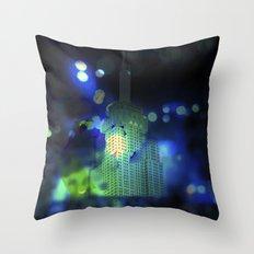 Urban Magic I Throw Pillow