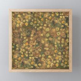 Golden Meadow Framed Mini Art Print
