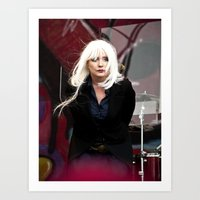 blondie Art Prints featuring Blondie by Euan Anderson
