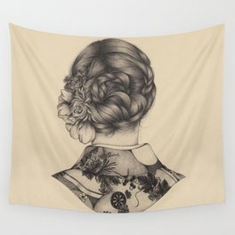 Demure Wall Tapestry