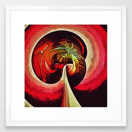 Water Tower Abstract no.8 Framed Art Print