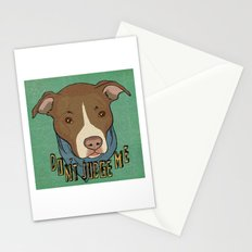 Pit bull Pride Stationery Cards