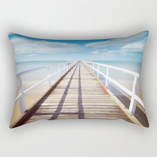 Pier sky 4 Rectangular Pillow